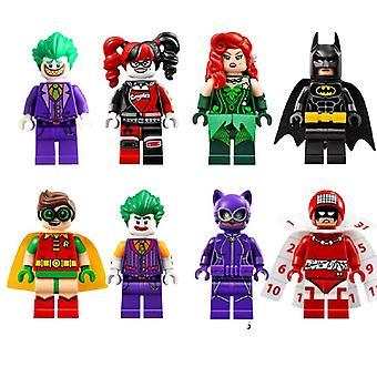 Superhero Assembled Doll Toy 8pcs