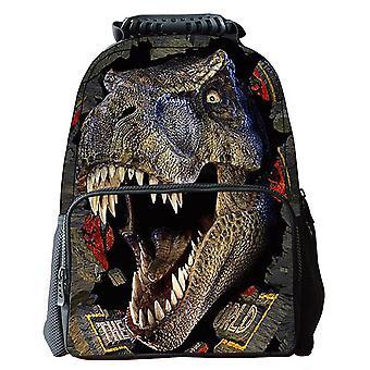 Impression de dinosaure de sac d'école d'enfants