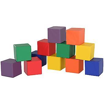2 db puha hab blokk játék építőelemek halmozott összhangban Totyogó játékok