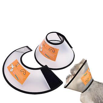 Verstellbare Haustier Kegel Halsband für Katzen Welpen Kaninchen, Haustier Halsbedeckung Schützen