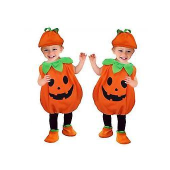 Halloween lasten cosplay show kurpitsa puku