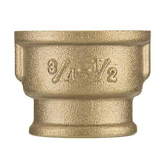 Female thread pipe reduction muff brass