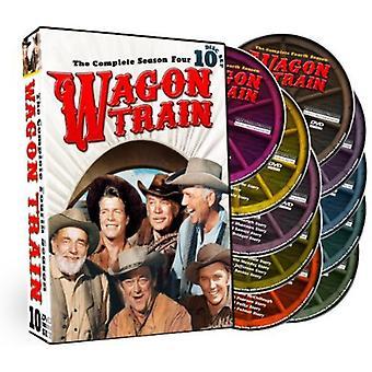 Wagon Train: The Complete Fourth Season [DVD] USA import