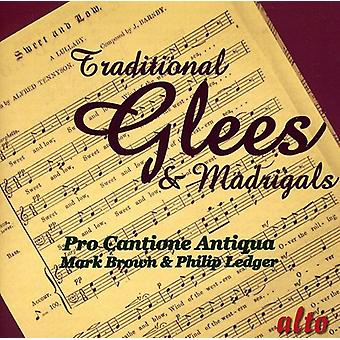 Pro Cantione Antiqua - traditionnel Glees & madrigaux [CD] USA import