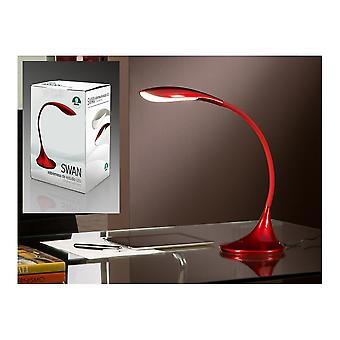 Schuller Swan LED Red Table Lamp