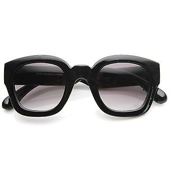 Pogrubienie Rim Gruba rama Retro placu ramki okulary