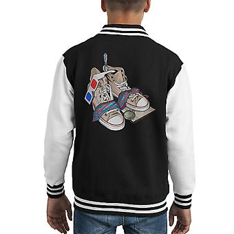 Doctor Who 10th Doctor Stuff Decem Kid's Varsity Jacket