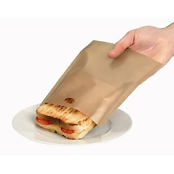 2x Gold Toastabags Toast sandwiches in uw broodrooster uit Caraselle
