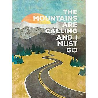 The Mountains are Calling Poster Print by Marla Rae (12 x 16)