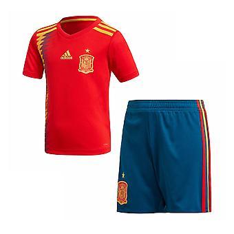 2018-2019 Spanje Home Adidas Mini Kit