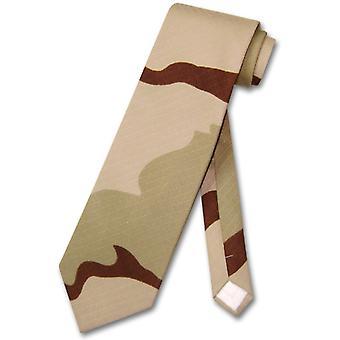 COVONA Men's Army Camouflage NeckTie Military Neck Tie