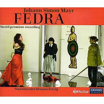 J.S. Mayr - Johann Simon Mayr: Fedra [CD] USA import