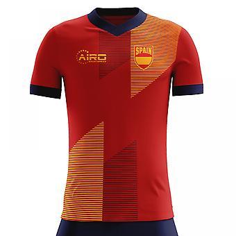 Koszulka piłkarska Home Concept 2018-2019 Hiszpania (dla dzieci)