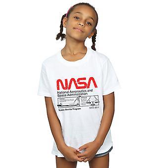 NASA Girls Classic Space Shuttle T-Shirt