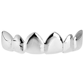One Size Fits All Bling Grillz - RELAX TOP - Silber