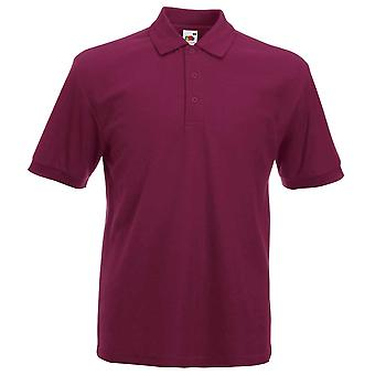 Fruit of the Loom Mens Heavy Weight Cotton Polo Shirt