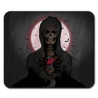 Rock schedel hart antislip-muismat Pad van 24 x 20 cm | Wellcoda