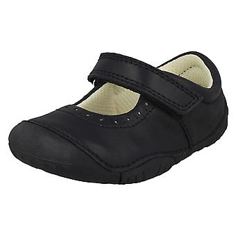 Girls Startrite Casual Shoes Cruise - Navy Nubuck - UK Size 4F - EU Size 20 - US Size 5