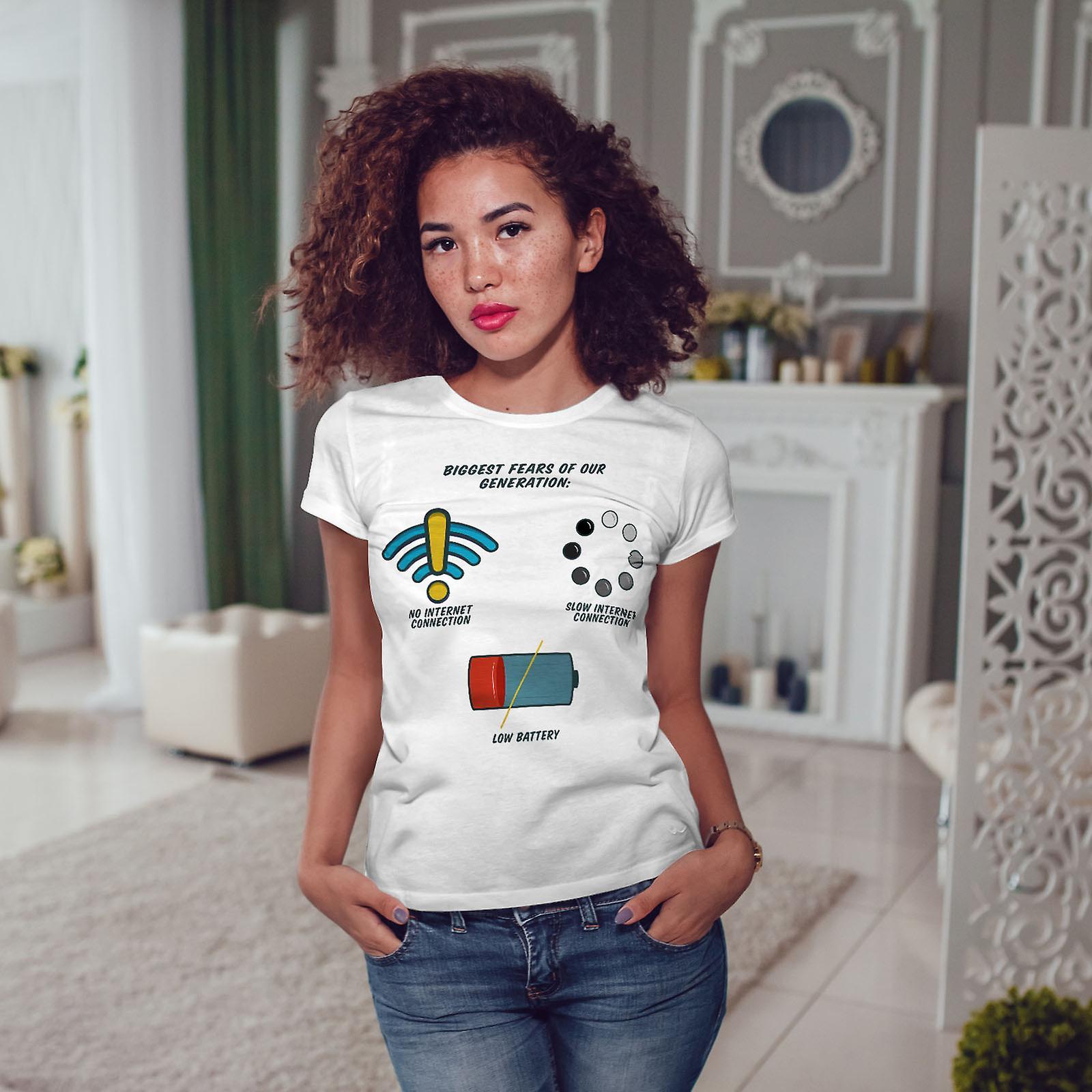 Première mondiale des problèmes WhiteT-shirt femme | Wellcoda