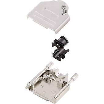 Conectores MH MHDTZK15-RA-PC-K D-SUB carcasa Número de pines: 15 Metal 180o Plata 1 ud(s)