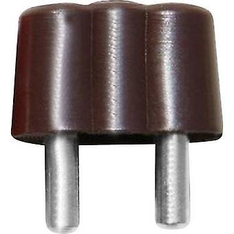 BELI-BECO 61/15br Mini jack plugg plugg, rett Pin diameter: 2.6 mm Brown 1 eller flere PCer