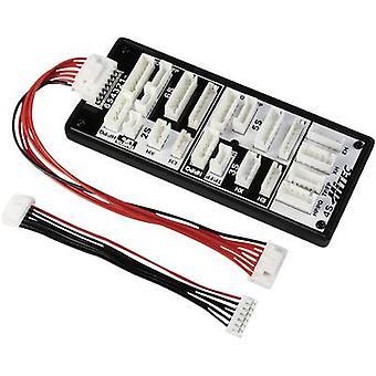 El tablero de balanceador LiPo tipo (cargadores): tipo XH (baterías recargables): HP/PQ, EH/F, XH, EH conveniente para (no. de las baterías): 2-6 Hitec