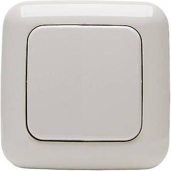 STANDARD 1/2 Kopp Free Control 2-channel Wall-mount switch Cream-white