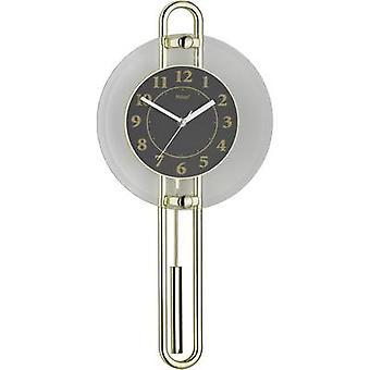Mebus 14813 Quartz Wall clock 26 cm x 54.5 cm Gold, Black, Silver