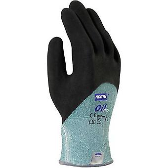 Nitrile Dimensione guanto a prova di taglio (guanti): 10, XL EN 420 , EN 388 North Oil Grip NFD35X 1 Pair