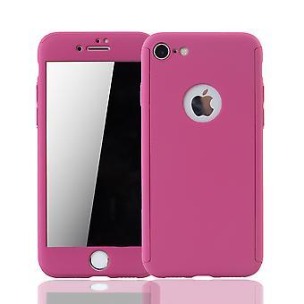 Apple iPhone 6 6s celular teléfono caso funda protector tanque protección cristal rosa