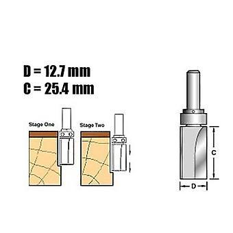 Trend C121 X 1/4 Tungsten Carbide Template Profile 1/4in
