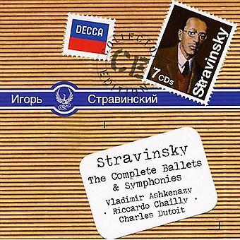 I. Stravinsky - Stravinsky: The Ballets & Symphonies complètes [CD] USA import