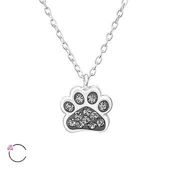 Paw Print - colliers en argent Sterling 925 - W32752X