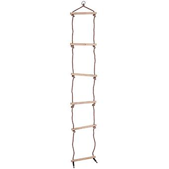 Bigjigs Jucarii pentru copii&s Rope Ladder Outdoor Climbing Frame Tree House Play