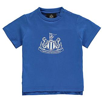 NUFC Kids Crest κοντομάνικο Baby84 πουκάμισο του πληρώματος