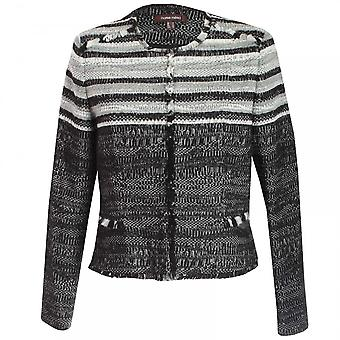 Marie Mero Shades Of Grey Tweed Jacket
