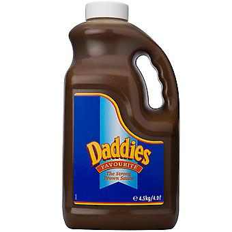 ダディを入れたブラウン ソース
