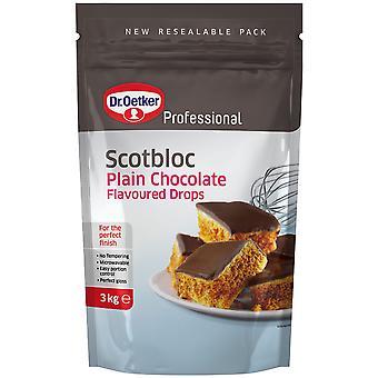 Dr オーガニック Scotbloc プレーン ダーク チョコレート ・ ドロップ