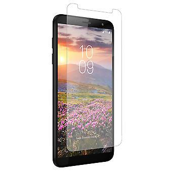 ZAGG InvisibleShield lasi + Samsung Galaxy J4 +