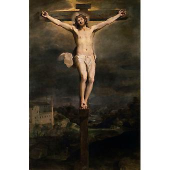Christ Crucified, Federico Barocci, 60x40cm
