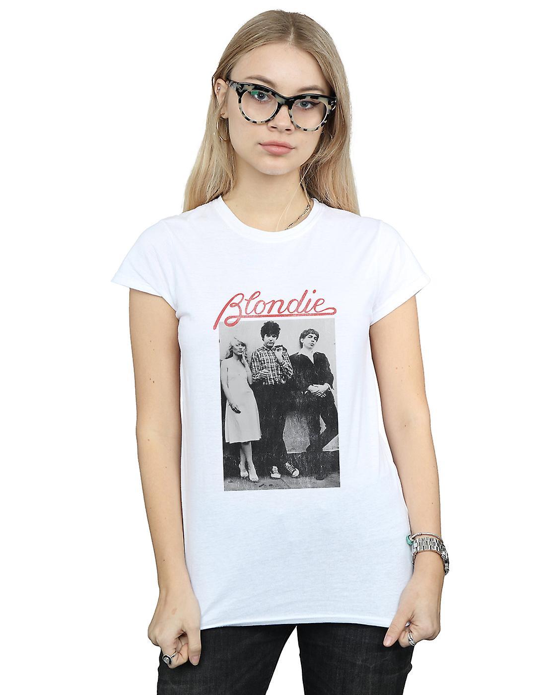 Blondie Women's Distressed Band T-Shirt