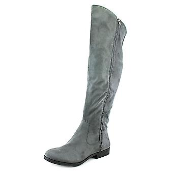 Style & Co. Womens Hadleyy Suede Almond Toe Knee High Fashion Boots