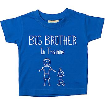 Big Brother In Training Blue Tshirt
