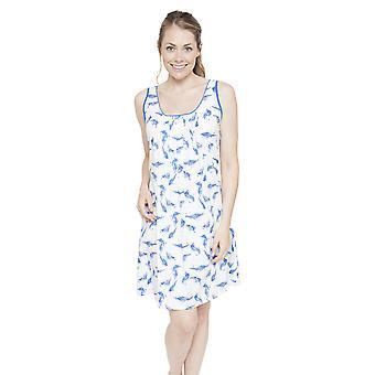 Cyberjammies 4056 naisten Amelia valkoinen sulka tulosta yö puku oloasut yöpaita