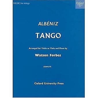 Tango arrangert for fiolin (eller bratsj) og Piano