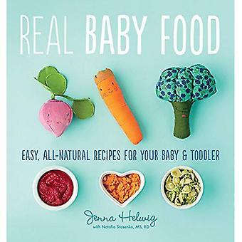 El recetario de comida de bebé sano 100%