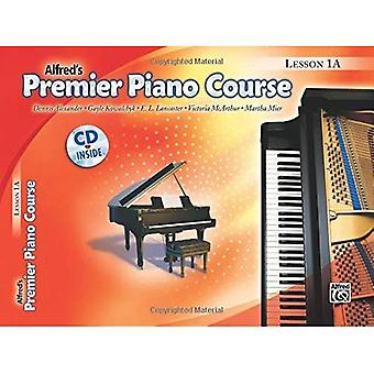 Curso de Piano Premier lección libro, Bk 1A: libro y CD