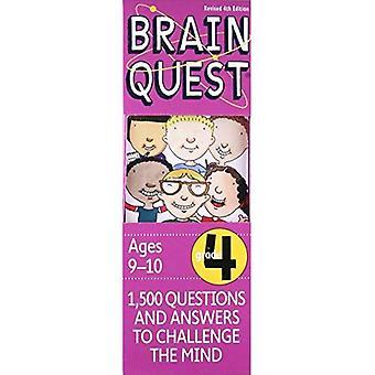 Brain Quest Grade 4, 4e édition: 1 500 Questions et réponses pour contester l'esprit