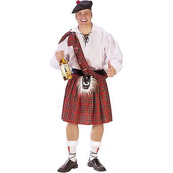 Schotland Guy volwassen kostuum