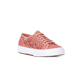 Superga macrame Peach sneakers Fashion